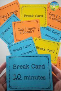 break-cards
